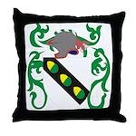 Acker Coat of Arms Throw Pillow