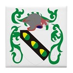 Acker Coat of Arms Tile Coaster