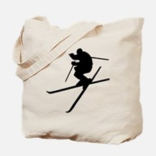 Skiing - Ski Freestyle Tote Bag