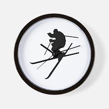 Skiing - Ski Freestyle Wall Clock