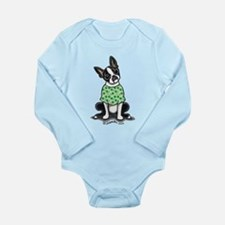 Irish Boston Long Sleeve Infant Bodysuit