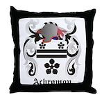 Achromov Coat of Arms Throw Pillow