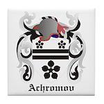 Achromov Coat of Arms Tile Coaster