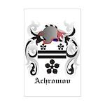 Achromov Coat of Arms Mini Poster Print