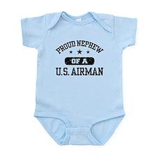 Proud Nephew of a US Airman Infant Bodysuit