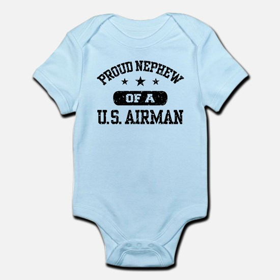Proud Nephew of a US Airman Infant Bodysuit