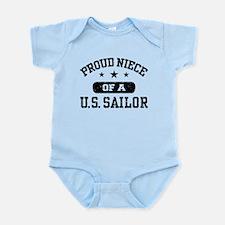 Proud Niece of a US Sailor Infant Bodysuit