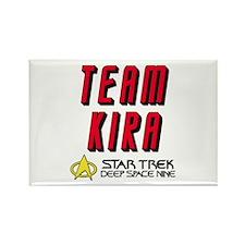 Team Kira Star Trek Deep Space Nine Rectangle Magn