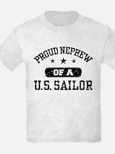 Proud Nephew of a US Sailor T-Shirt
