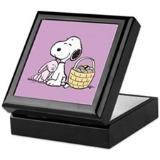 Beagle and Bunny Keepsake Box