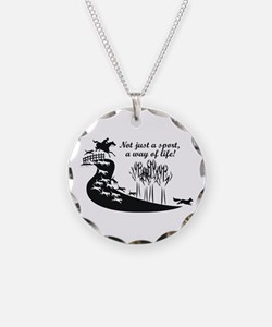 """Foxhunting """"Way of Life"""" Necklace"""