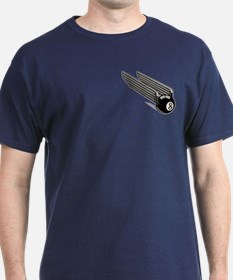 8-Ball Wings -Aero T-Shirt