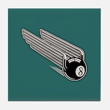 8-Ball Wings -Aero Tile Coaster