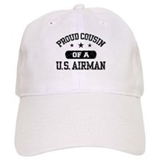 Proud Cousin of a US Airman Baseball Cap