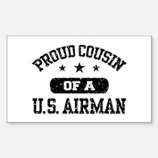 Proud Cousin of a US Airman Decal