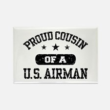 Proud Cousin of a US Airman Rectangle Magnet