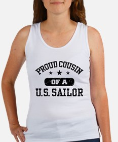Proud Cousin of a US Sailor Women's Tank Top