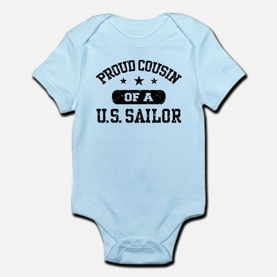 Proud Cousin of a US Sailor Infant Bodysuit