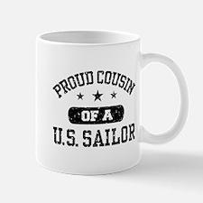 Proud Cousin of a US Sailor Mug