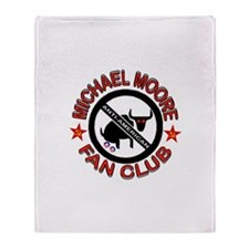 STICK IT IN YOUR EAR Throw Blanket
