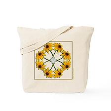 Black-Eyed Susan Pattern Tote Bag