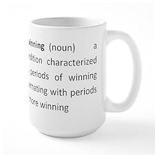 Biwinning Definition Mug