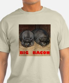 Big Bacon Pot Bellied Pigs T-Shirt