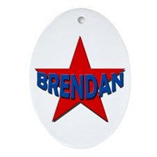 Brendan Ornament (Oval)