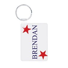 Brendan Aluminum Photo Keychain