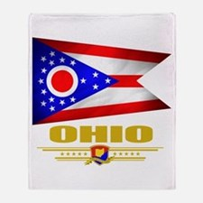Ohio Pride Throw Blanket