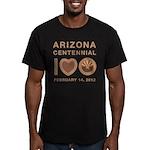 Arizona Centennial Men's Fitted T-Shirt (dark)