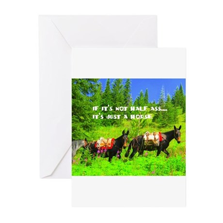 Mule Greeting Cards (Pk of 20)