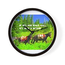 Mule Wall Clock