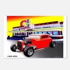 Candy Apple Postcards (Package of 8)