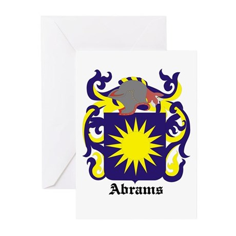 Abrams Coat of Arms Greeting Cards (Pk of 10)