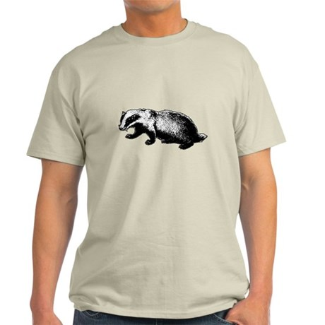 Honey Badger Doesn't Care Light T-Shirt