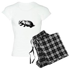 Honey Badger Doesn't Care Pajamas