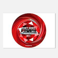 Ruby Gems 2011 - Postcards (Package of 8)