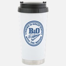 Baltimore and Ohio 13 s Stainless Steel Travel Mug