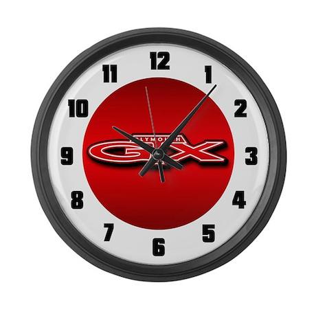 Plymouth GTX Large Wall Clock