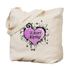 I Heart Vaping Tote Bag
