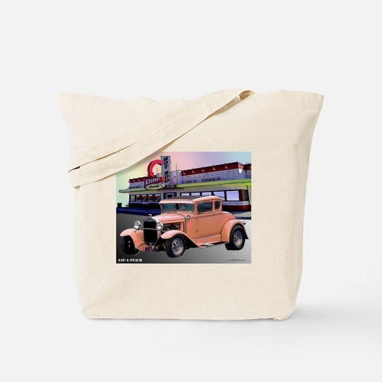 Eat-A-Peach Tote Bag