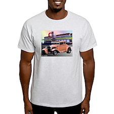 Eat-A-Peach Ash Grey T-Shirt