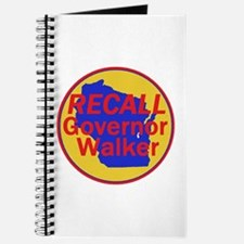 RECALL Gov. Walker Journal