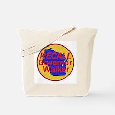 RECALL Gov. Walker Tote Bag