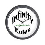 Wall Clock - Infinity Rules