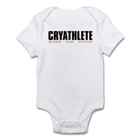 """Cryathlete"" Infant Creeper"