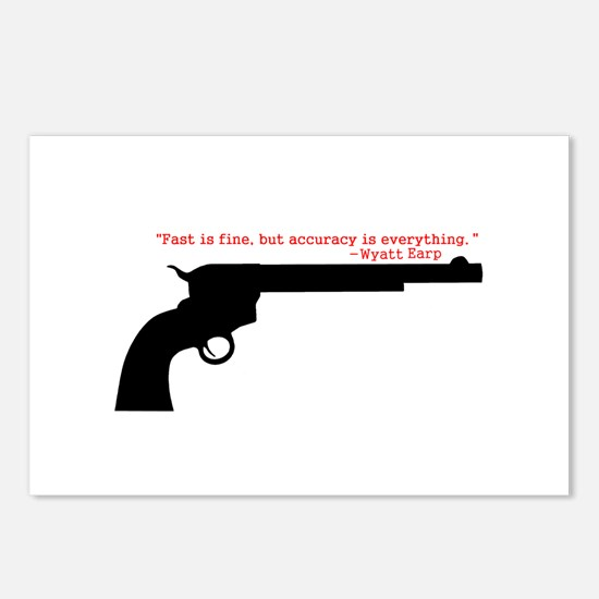 Wyatt Earp Quote Postcards (Package of 8)