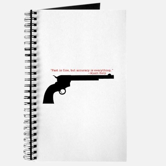 Wyatt Earp Quote Journal