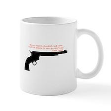 Jesse James Quote Mug
